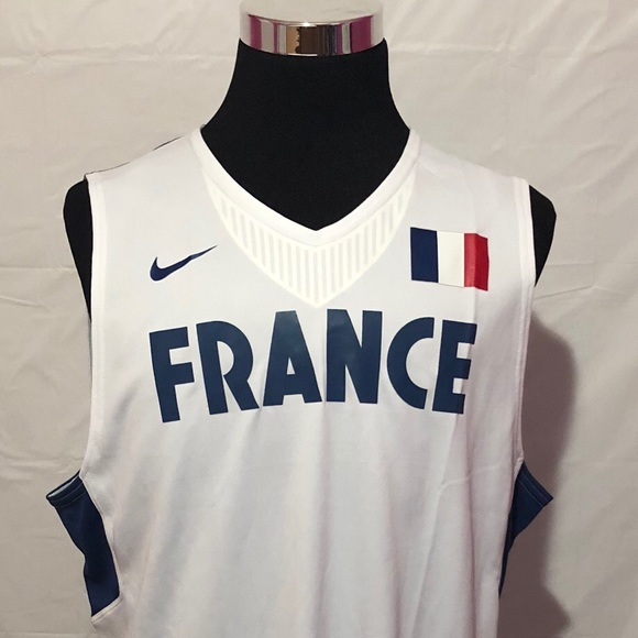 uk availability 3ec46 c9951 Nike Men's Basketball Jersey Team France Size 56